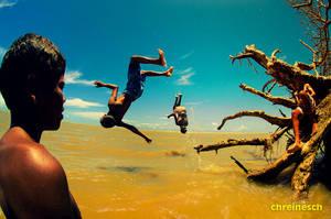 Swimming In The Air take ix