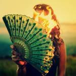 That Fiery Look by oO-Rein-Oo