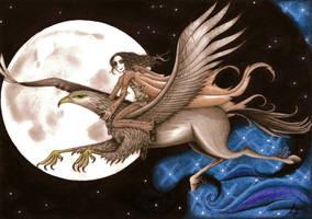 Sirius y Buckbeack by SrLunatico