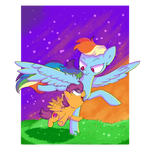 Dashie and Scoots: Flying Lesson