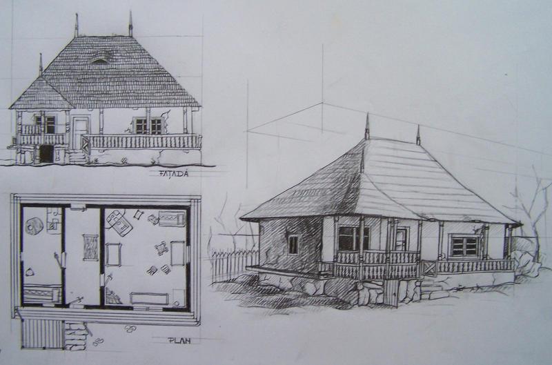 casa traditionala romaneasca