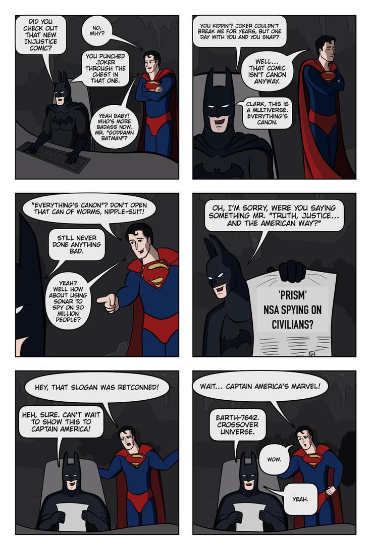 DC Multiverse by lgghanem