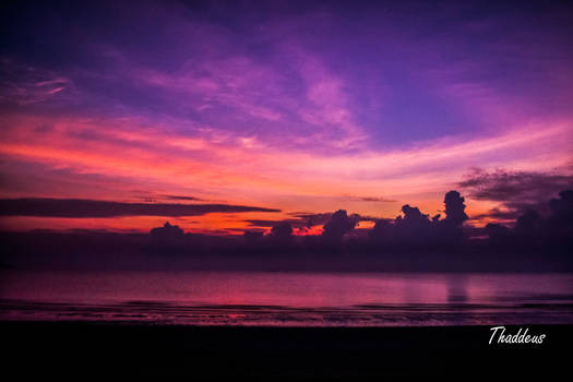Sunrise at Mersing
