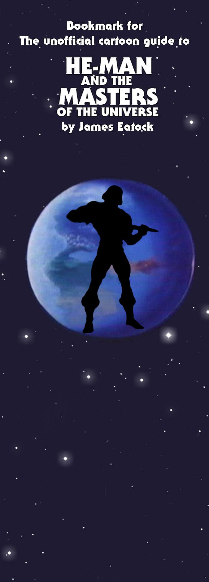 Bookmark for James Eatock's He-Man Book