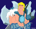 Ice Armor He-Man without background