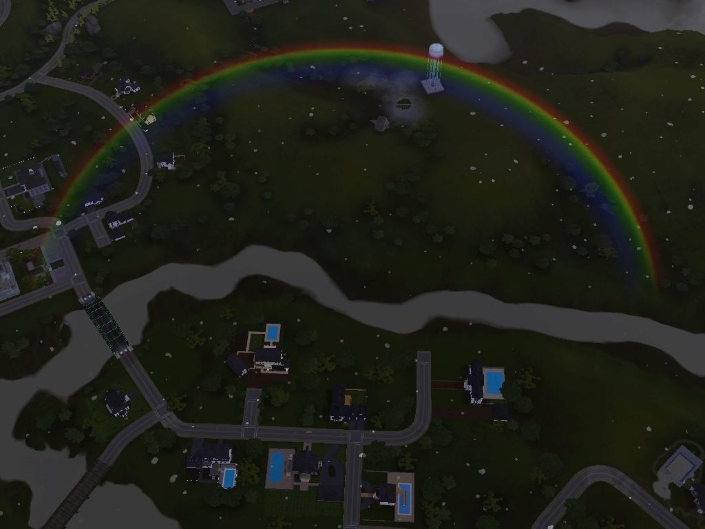 Sims 3 Rainbow by raetara