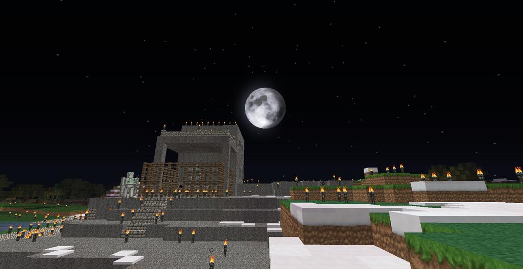 Minecraft Nightfall by raetara