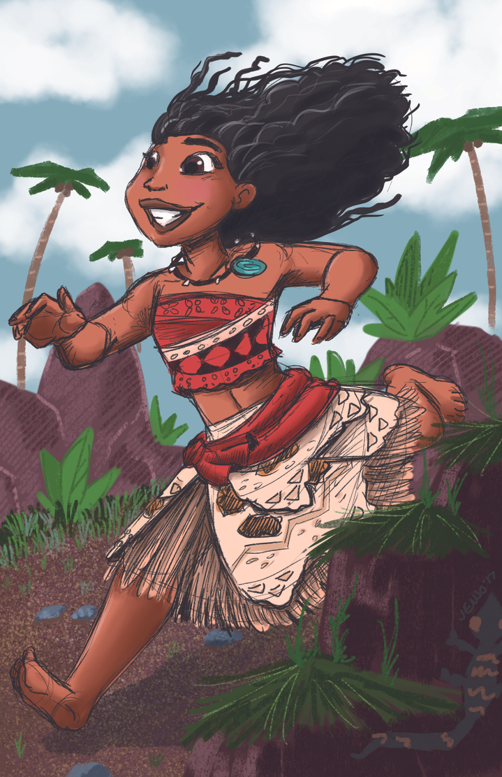 Moana by MissKeith