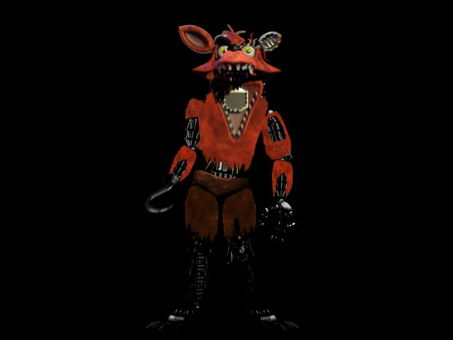 Withered Foxy Full Body By Bonnieta123 On DeviantArt