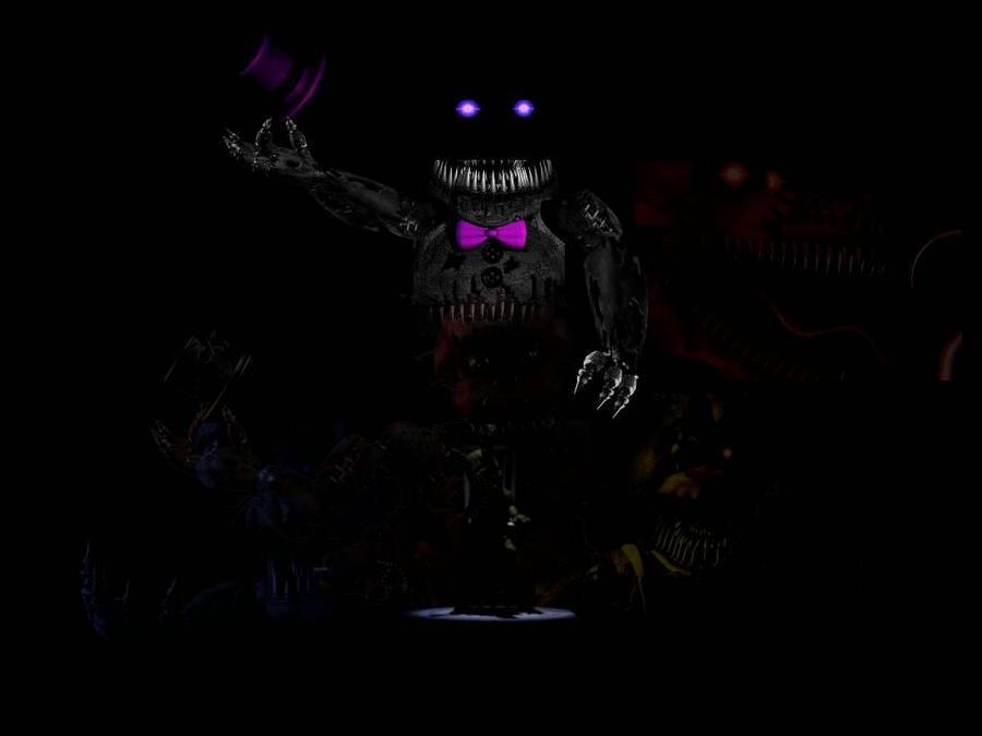 Fnaf 4 Nightmare Creations By Bonnieta123 On Deviantart