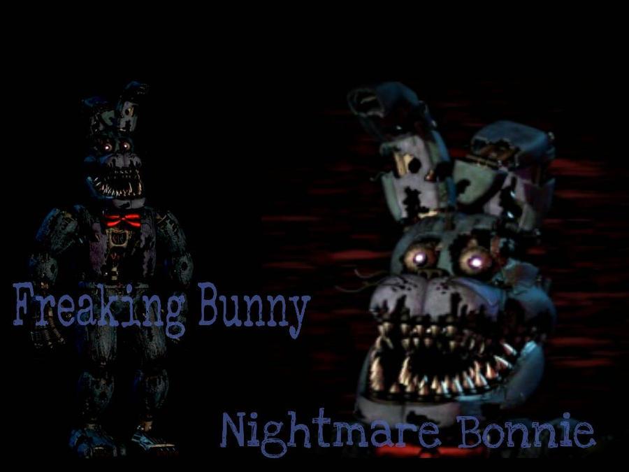 Fnaf 4 nightmare bonnie by bonnieta123 on deviantart
