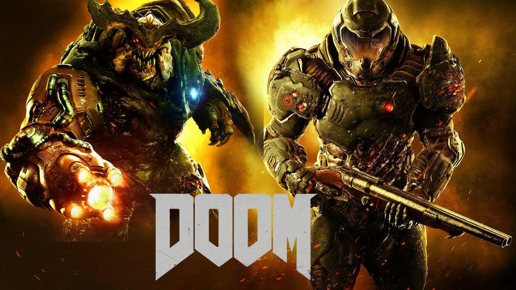 doom 4 my fanmade wallpaper by bonnieta123 on deviantart