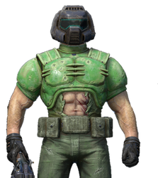 Doomguy from Quake Champion (RENDER) by bonnieta123