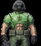 Doomguy from Quake Champion (RENDER)