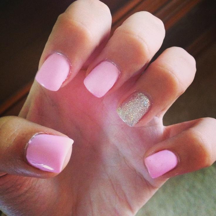 Light Pink Nails by Ahmed-Jahanzaib
