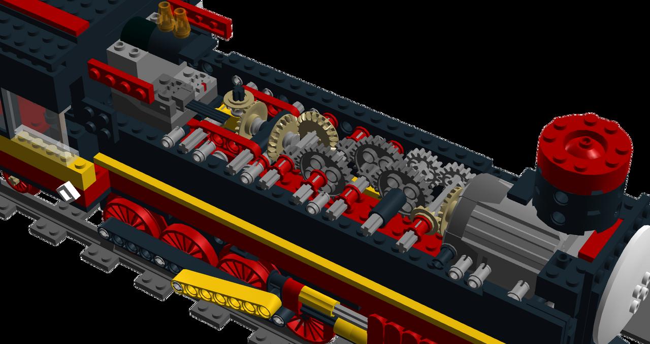 Lego Train Car Parts