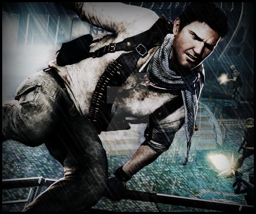Uncharted Wallpaper: Uncharted 3: Drake's Deception Wallpaper By AwesomeAlors