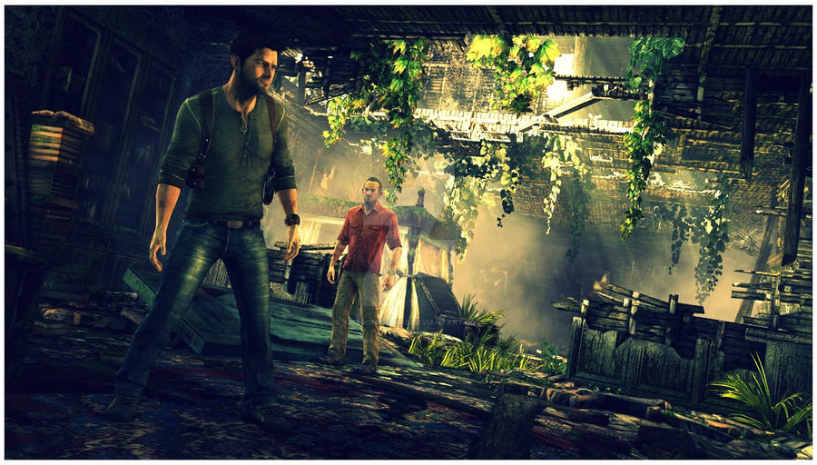 Uncharted 3 Drakes Deception Wallpaper By Awesomealors On
