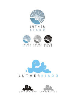 Luther book publisher logotype