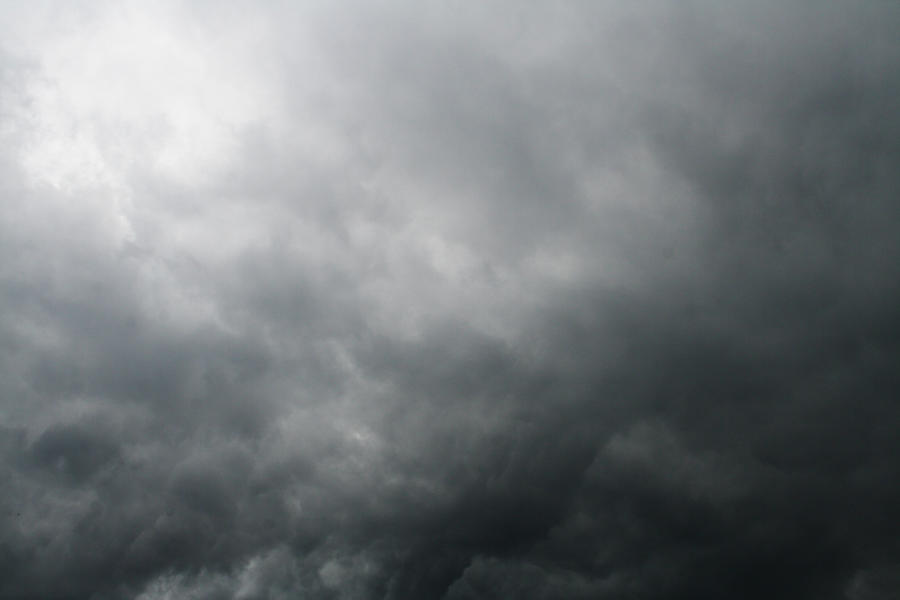 how to draw dark clouds