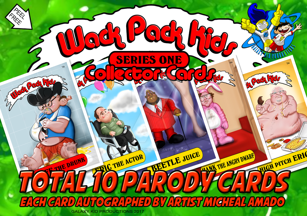 Wack Pack Kids Series One AD by galaxykidnet