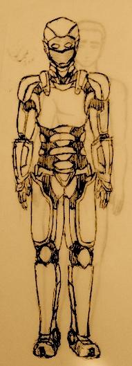 O Andarilho - Armadura / The Wanderer - Armor by Bekuta