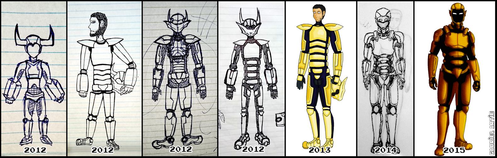 Alexia Armor Evolution by Bekuta