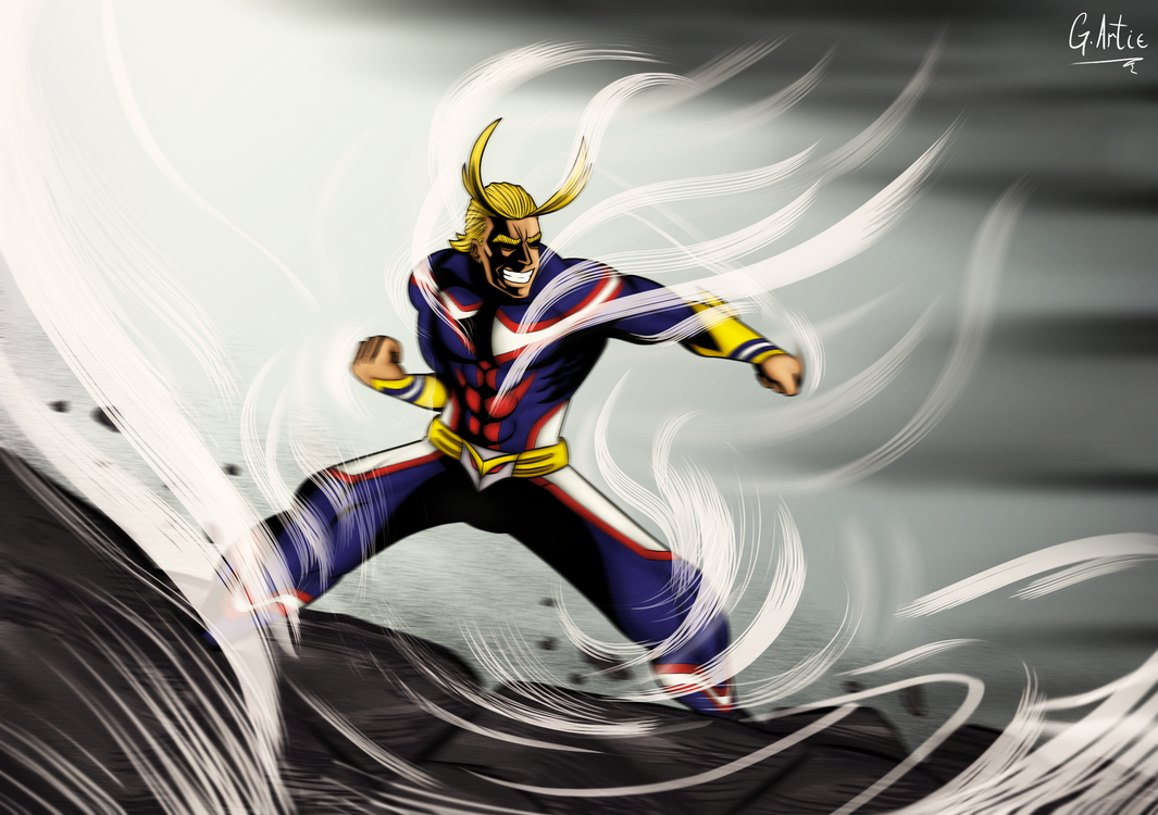 Because i am the symbol of peace all might by bekuta on deviantart because i am the symbol of peace buycottarizona