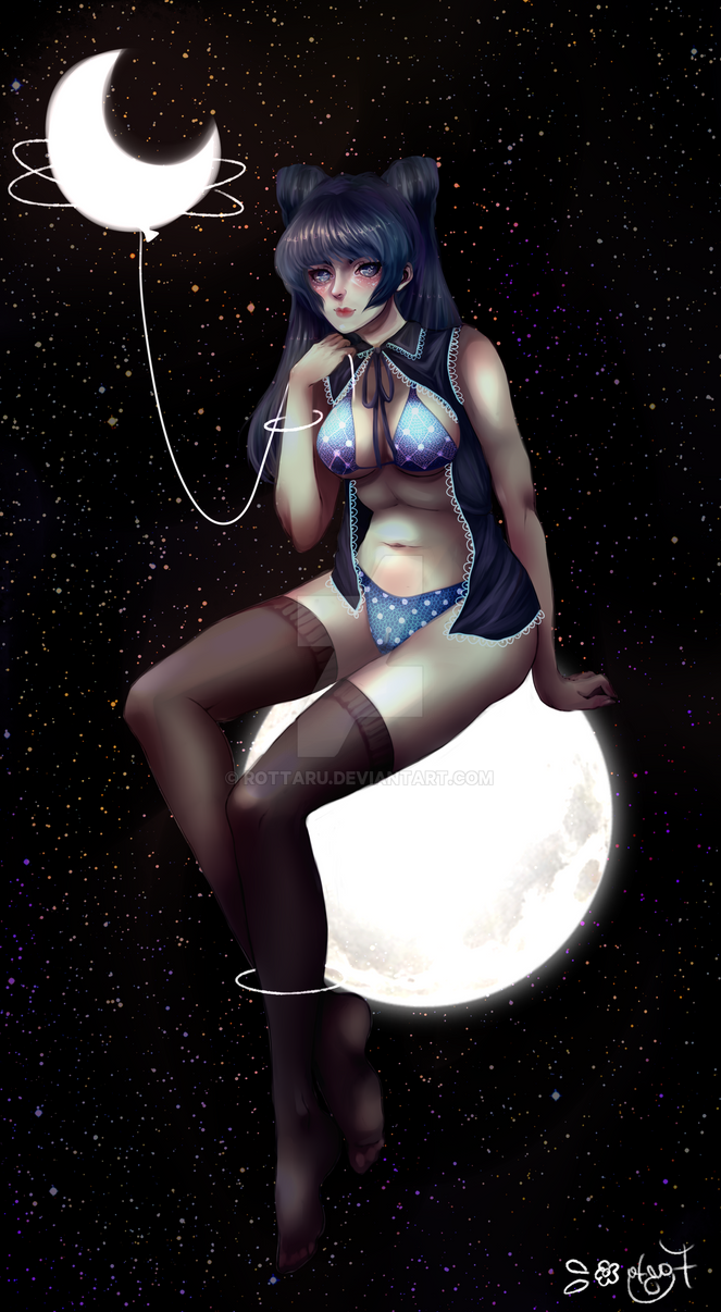 Moongirl by Rottaru