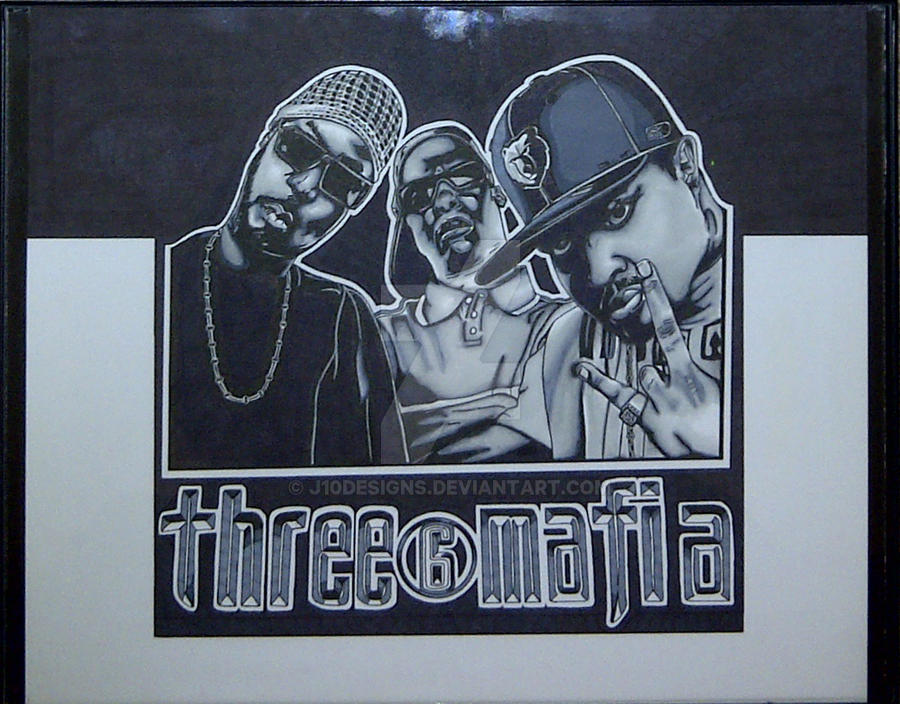Three 6 Mafia Wallpaper: Three 6 Mafia Marker Drawing By J10Designs On DeviantArt