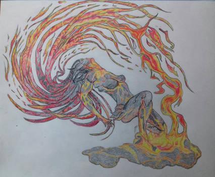 Lava Lady Splish-Splash