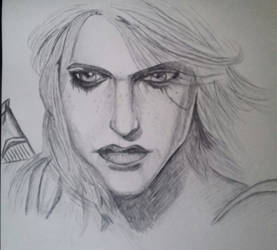 Ciri - Witcher 3 by frantastic-scribbles