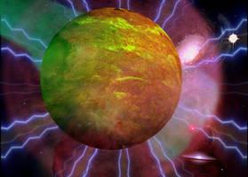 Elyzeing planetoid by dinaminzer