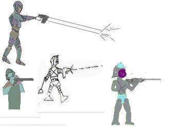 Roboxers Examples by dinaminzer