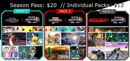 Smash DLC Mock UP. What I want to See. by drag0nscythe
