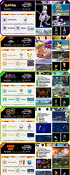 Super Smash Brothers Wii U / 3DS Fake DLC Sheets by drag0nscythe