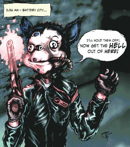 8 Bit Comic Killjoys by SirPedroEC