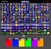 SSBV Updated Character Roster (Version 2)