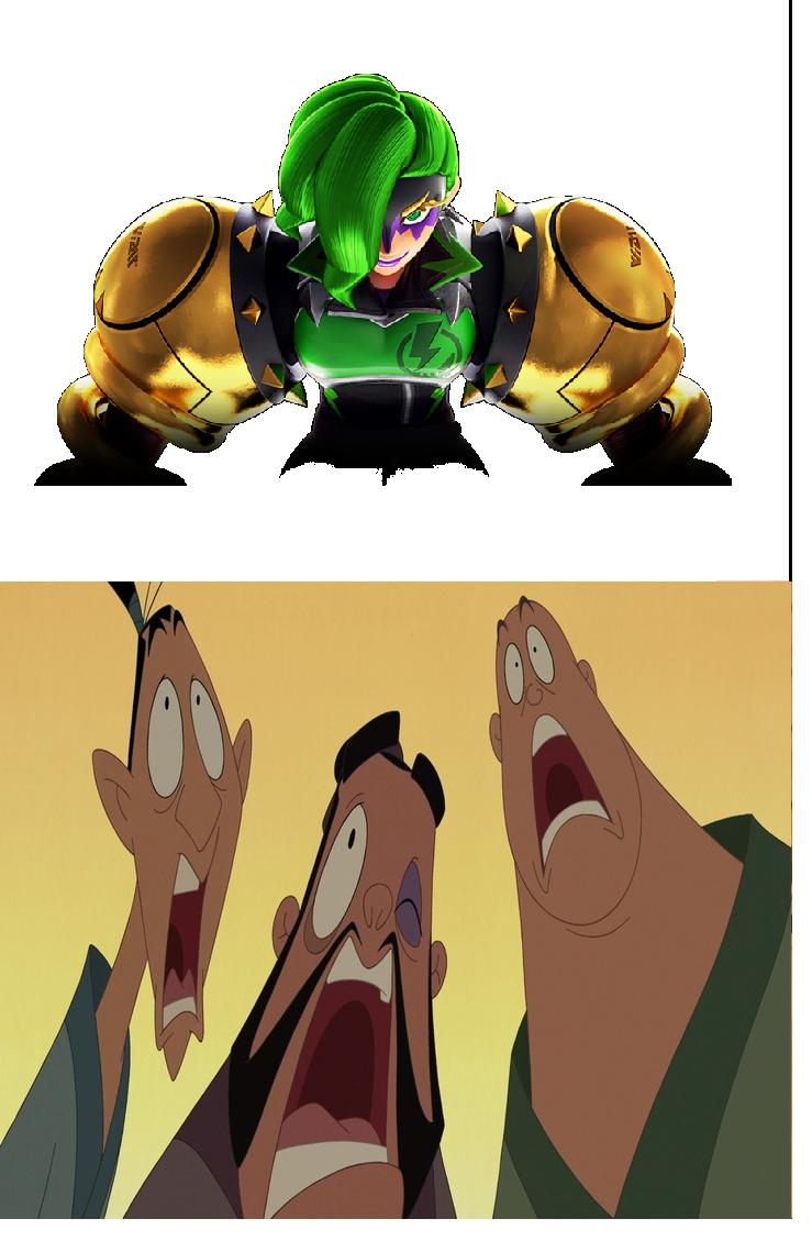 Dr. Coyle scares Yao, Ling, and Chien-Po