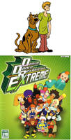 Scooby and Shaggy adores DDR Cast