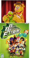 Kermit and Fozzie adores DDR Cast