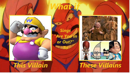 What if Wario sings AYIOO to BBB, K, P, and AOH
