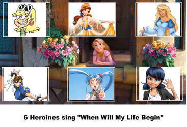 My 6 Heroines Who Sing WWMLB (My Version)