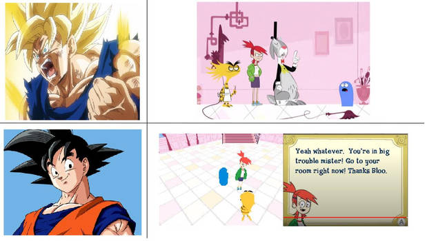 Goku hates and likes FHFIF episode