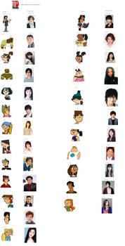 Total Drama (Japanese Dub) VA Cast Meme (Part 1)