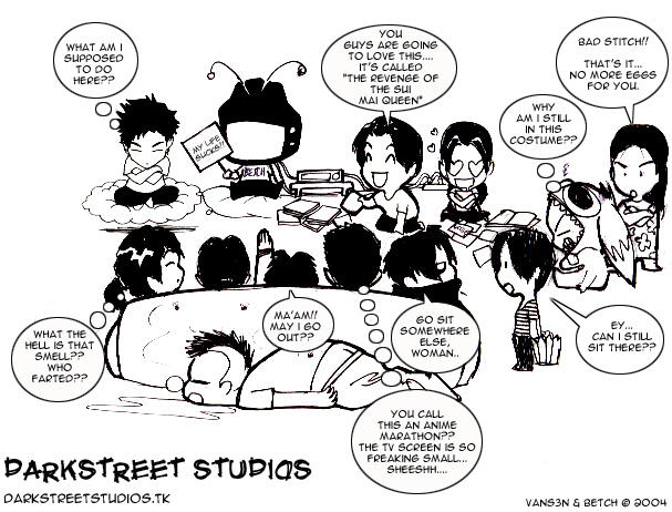 DarkStreet Studios Comic by rocktoons-iloilo