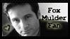 Fox Mulder Stamp by PixieDust01