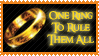 Lord of the Rings Stamp by PixieDust01