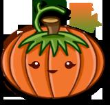 Kawaii Pumpkin by PixieDust01