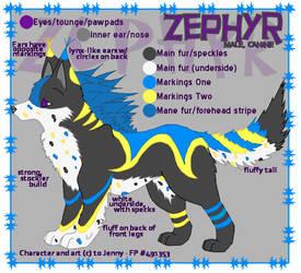 Zephyr - Reference by Ryachanira